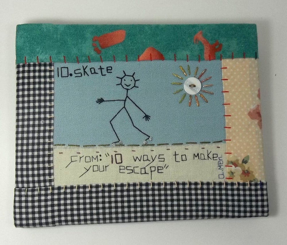 """Image of """"10 ways to make your escape: #10 Skate"""" by Anne Menary"""