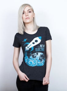Image of Womens Fitted Blast-Off Tee