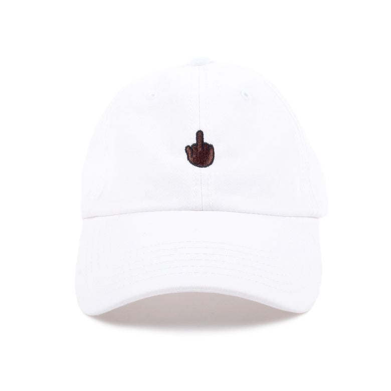 Image of Finger Low Profile Sports Cap - Brown