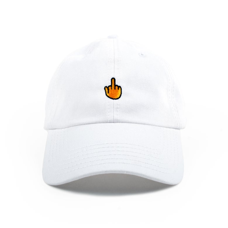 Image of Finger Low Profile Sports Cap - Yellow