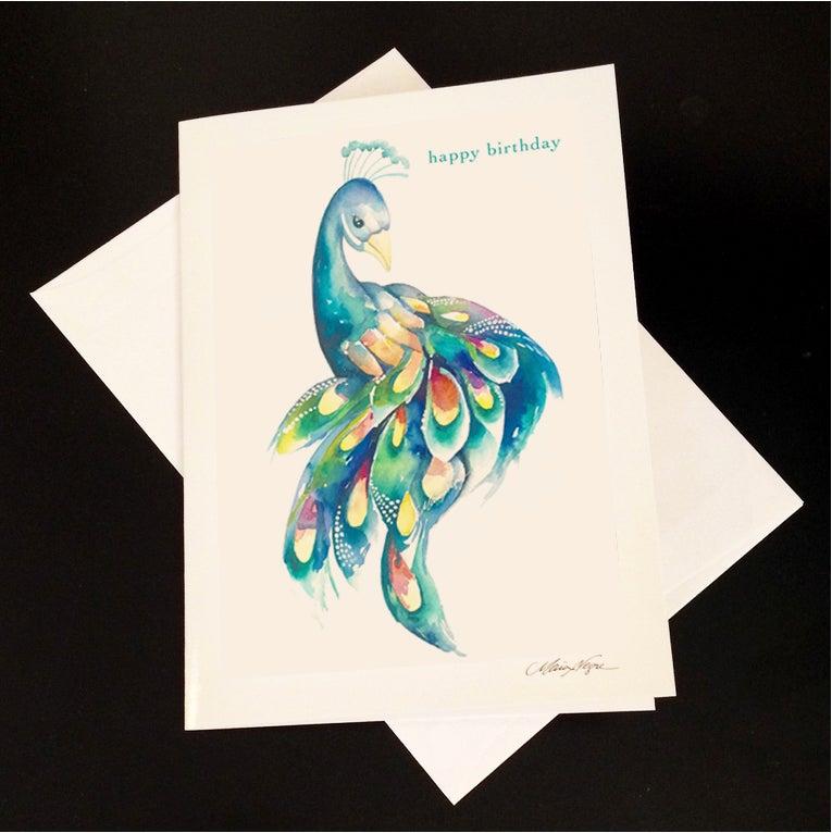 Image of Birthday Peacock