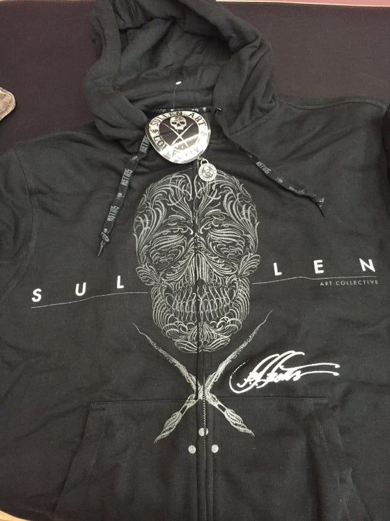 Image of Skull hoodie