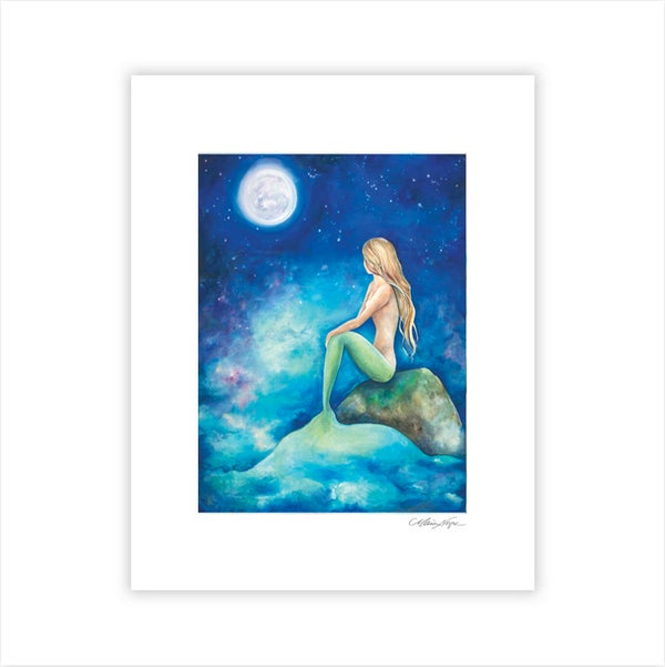 Image of Mermaid 8, Archival Paper Print