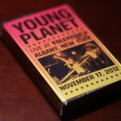 "Image of Young Planet - ""Live at Valentine's"" Cassette"