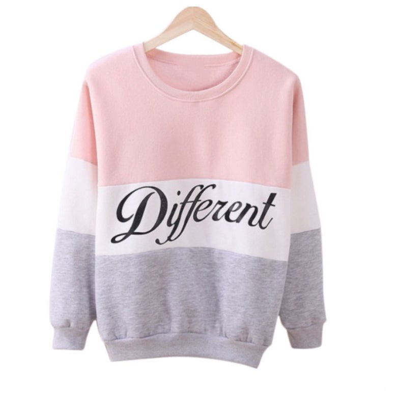 Image of Pink Be Different Sweater