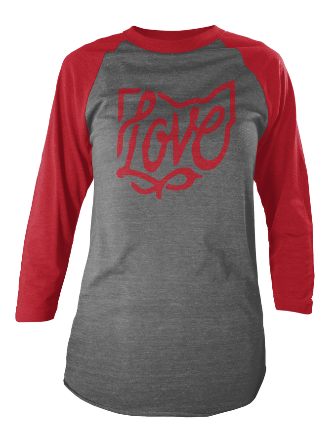 Image of Ohio Love Raglan