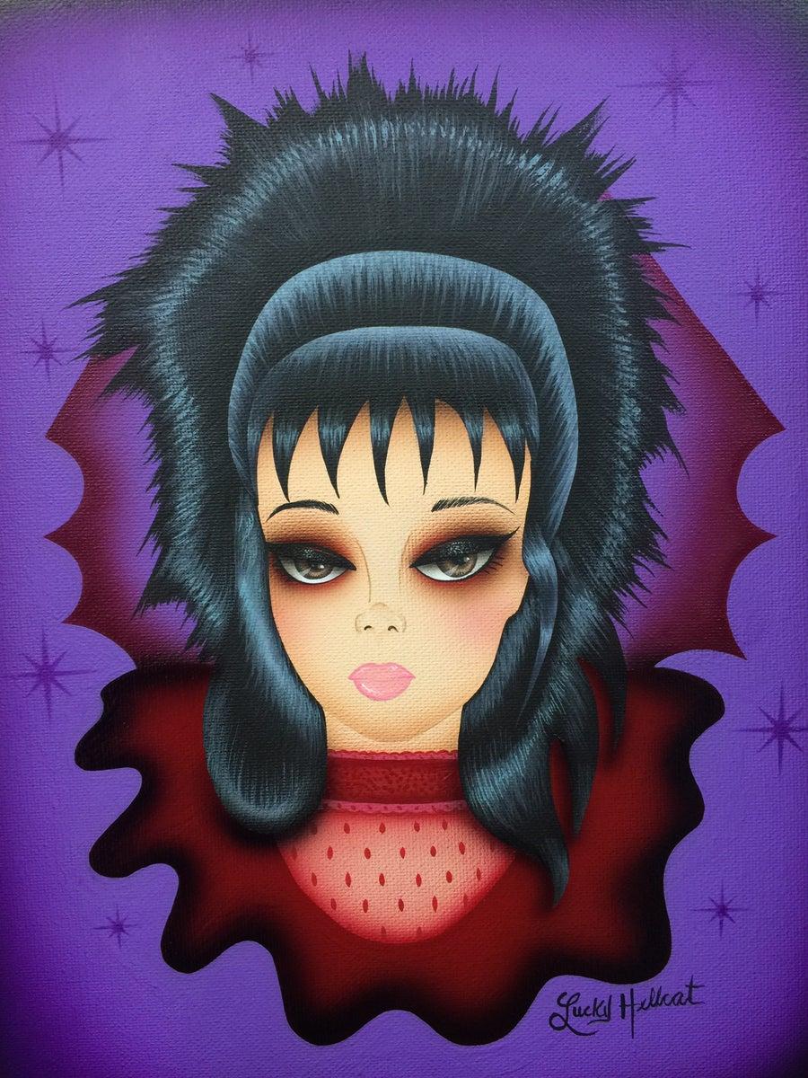 Image of Lydia Deetz Print
