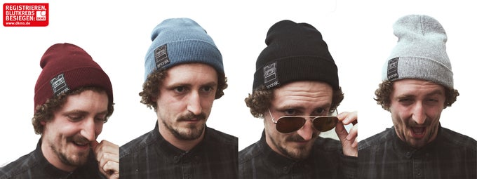 Image of anorak. beanie -pattern-