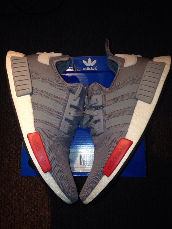 Image of Adidas NMD Runner (Grey/White/Red)