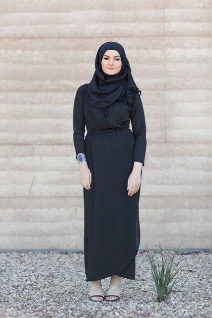 Image of La Sera Maxi dress (black)