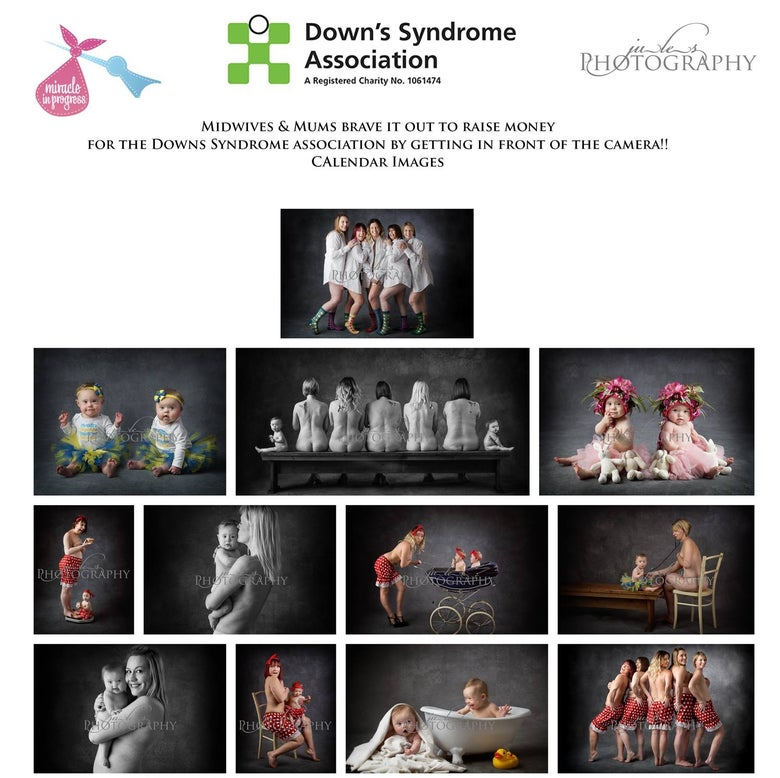 Image of Down's syndrome awareness charity calendar
