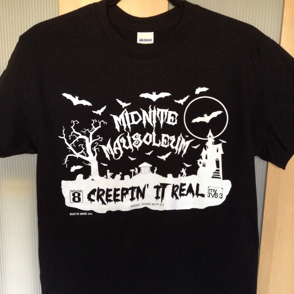 Image of Creepin' It Real - Glow in the Dark tee shirt