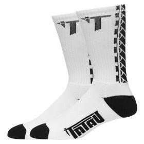Image of Tatau TS-01 Socks White/Black