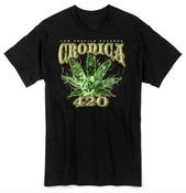 Image of CRONICA 420 BLACK T-SHIRT