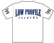 Image of LOWPROFILE RECORDS CLASSIC WHITE T-SHIRT