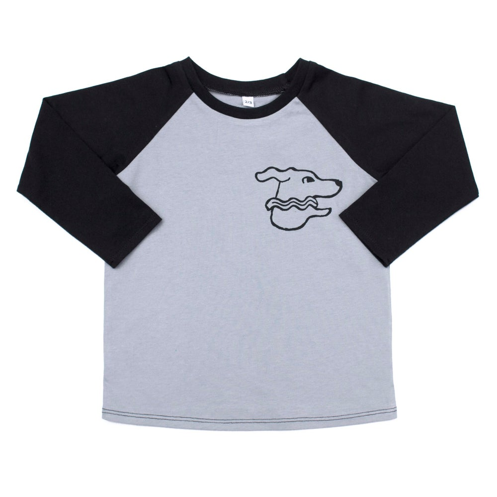 Image of  Car Dog Cotton Raglan Top