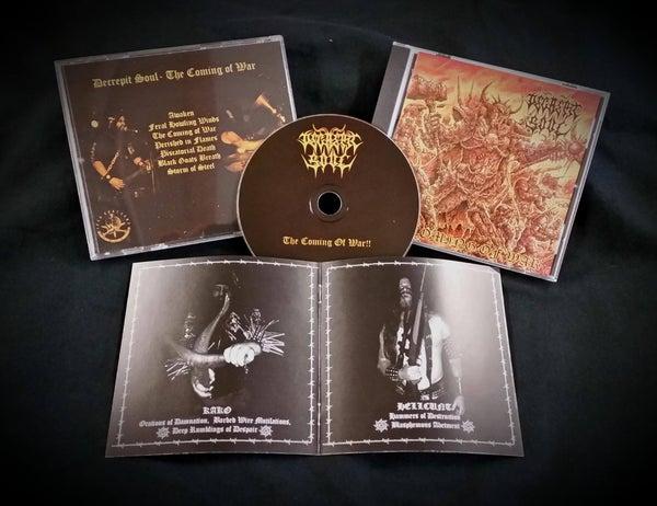 Image of Decrepit Soul-The Coming of War cd