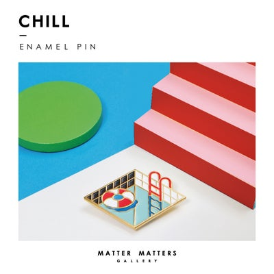 Image of Chill Out - Enamel pin