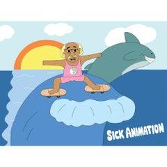 Surf Poster - Sick Animation Shop