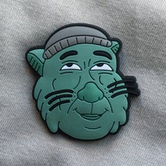 Smash Cat Lapel Pin - Sick Animation Shop