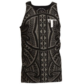 """Image of """"Roots"""" Tank Top Black/Gray"""