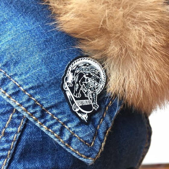 "Image of ""PAWSEVERANCE"" Lapel Pin"