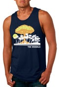 Image of Vandals Atomic Paradise Tank - Navy Blue