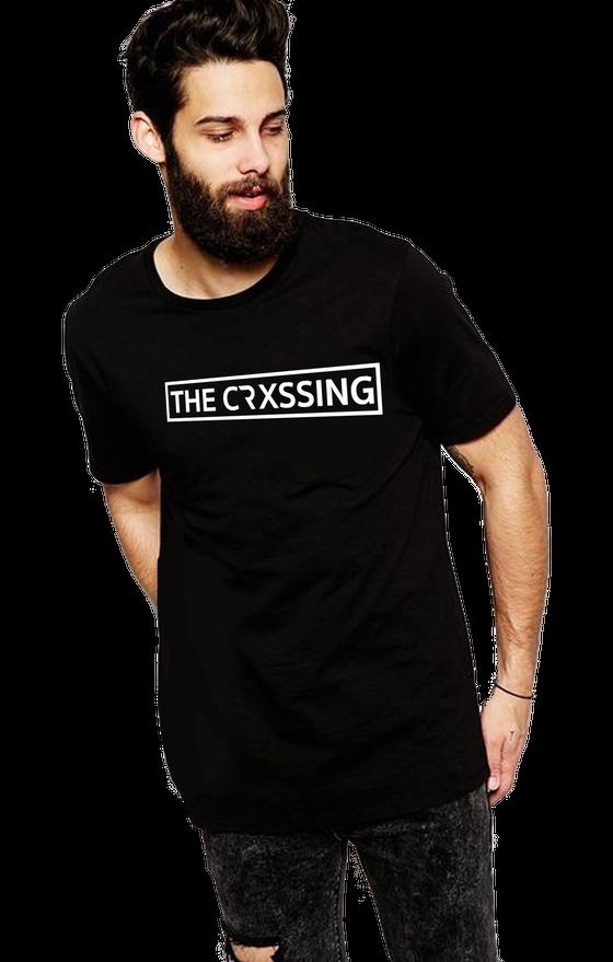 Image of The Crxssing Black T Logo