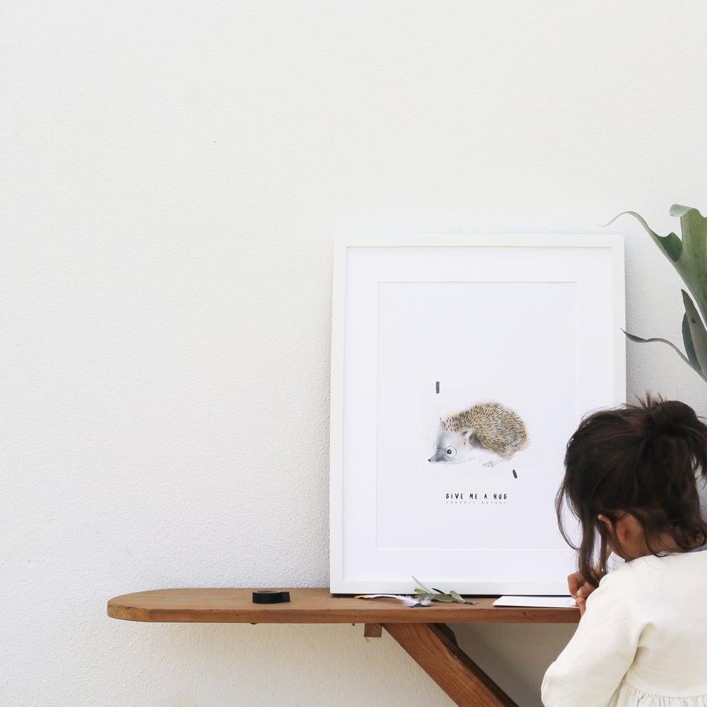 Image of ART PRINT | HEDGEHOG