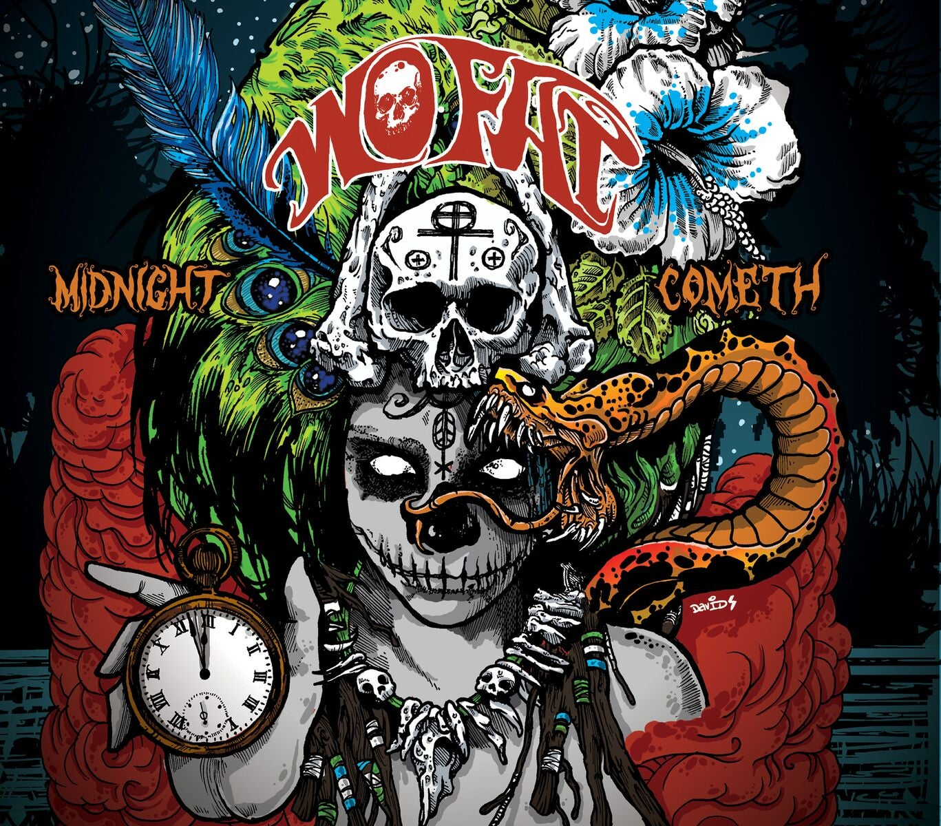 Image of Wo Fat - Midnight Cometh Gatefold LP (Blackest Night Edition)