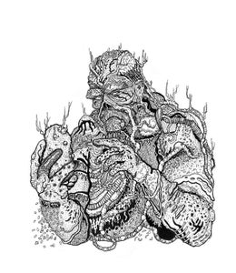 Image of SWAMPY THING Print