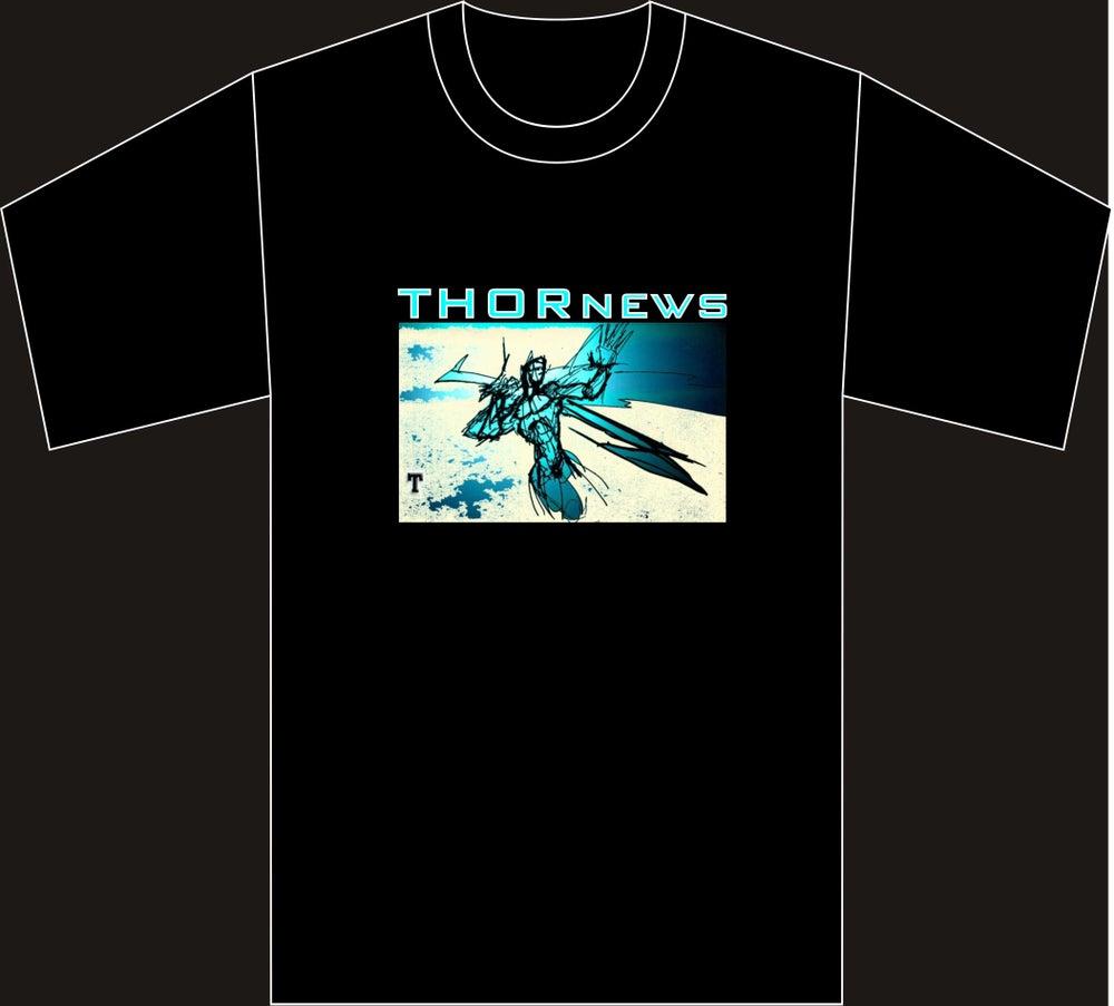 Image of The Throw - Men's 100% Cotton Short Sleeve Black T-Shirt