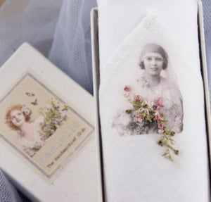 Image of Woman's Handkerchief: Bride