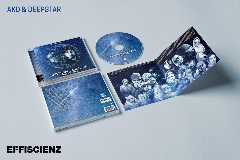 "Image of AKD & DEEPSTAR ""UNIVERSAL LANGUAGE"" / CD"