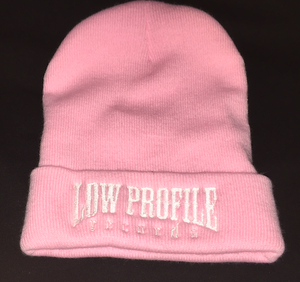 Image of LOWPROFILE Pink Beenie