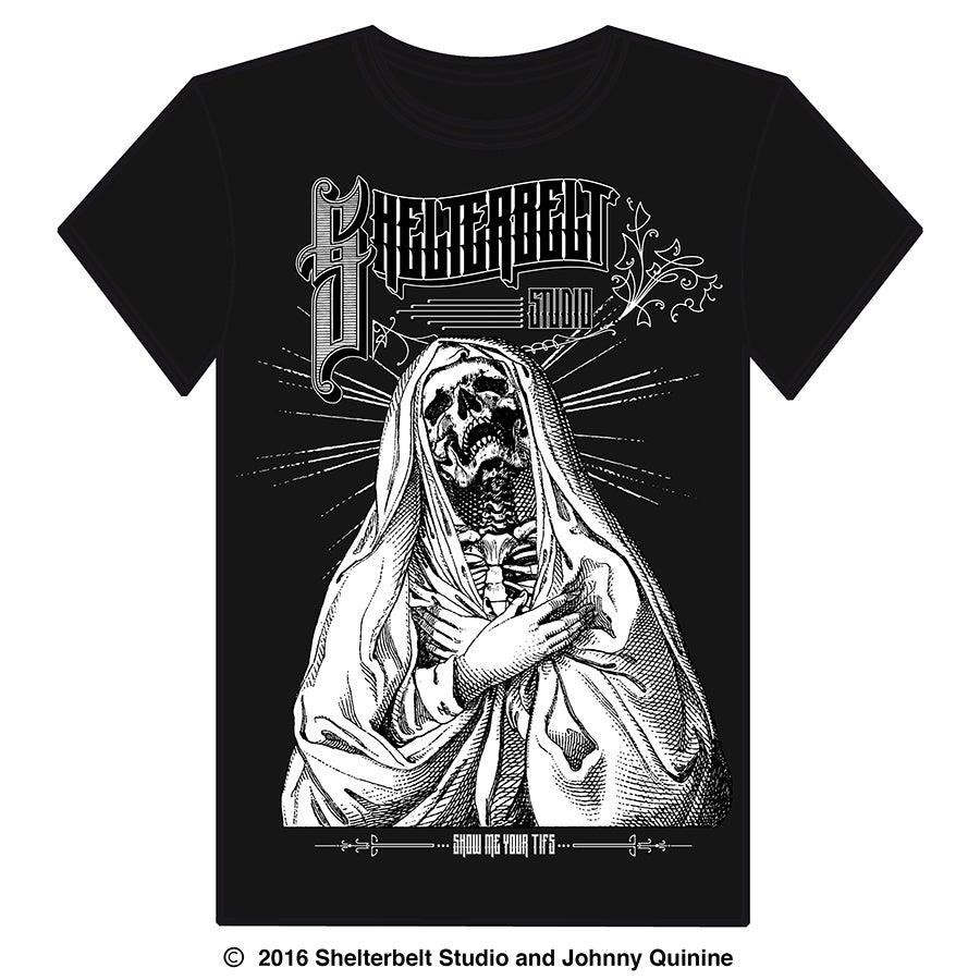 "Image of Shelterbelt Studio ""Show Me Your Tifs"" T Shirt"