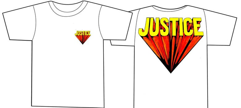 Image of JUSTICE 'super' shirt WHITE