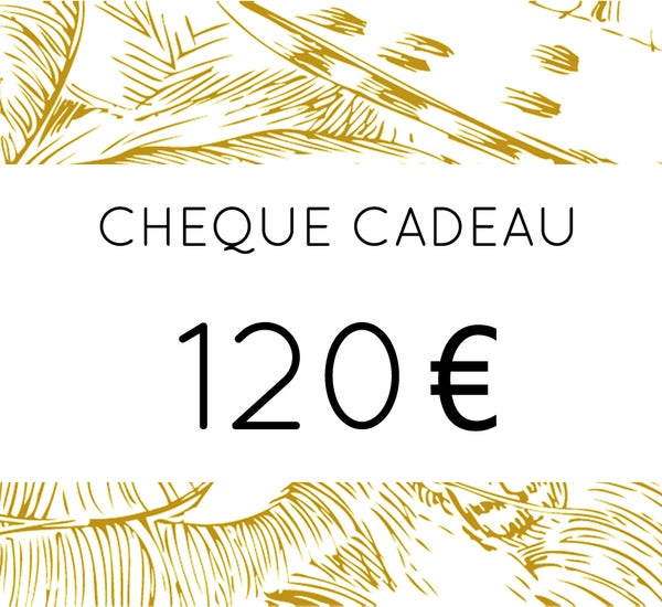 Image of Chèque Cadeau 120 €