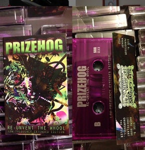 "Image of Prizehog ""Re-Unvent The Whool - Low Frequency Extended Edition""  cassette"