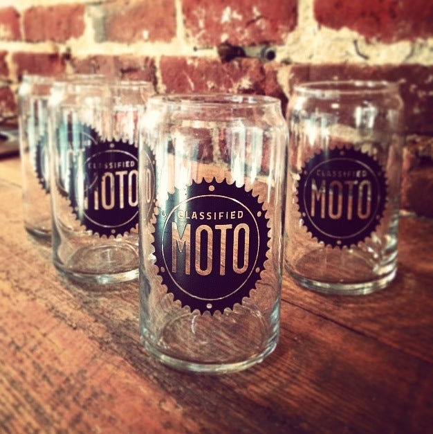 Image of Buy a Set of 4 CM Beer Glasses, Get 2 Koozies Free