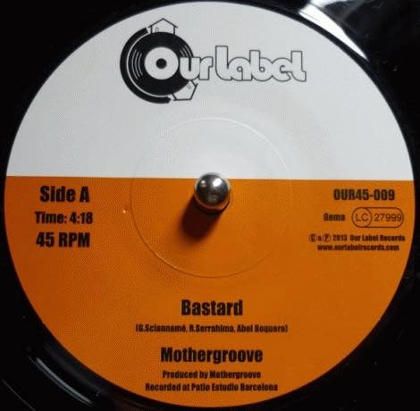Image of Mothergroove - Bastard / The Jam