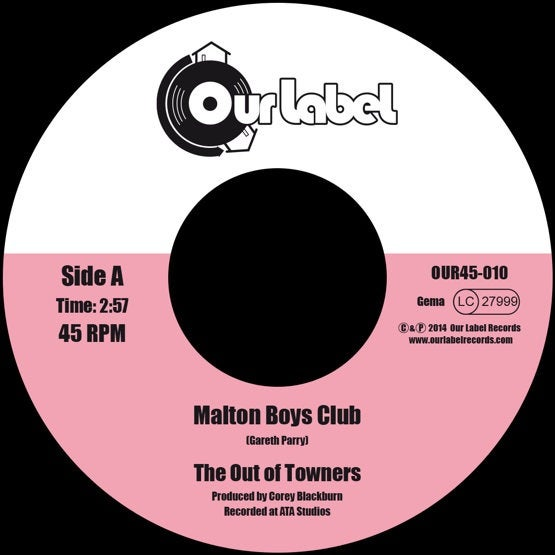 Image of The Out of Towners - Malton Boys Club / If He's Number 6, I'm Number 7