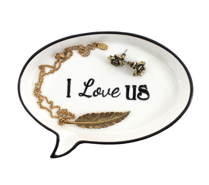 Image of I Love Us Jewellery Dish