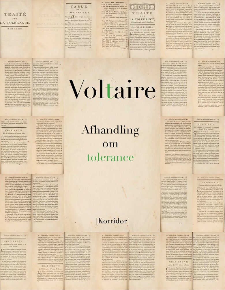 Image of Voltaire - Afhandling om tolerance