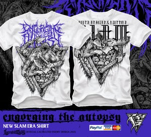 Image of ENGORGING THE AUTOPSY - New Slam Era - Tshirt