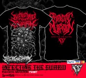 Image of INFECTING THE SWARM - Parasitic Mutation Tshirt