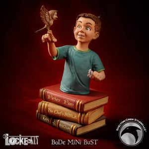 Image of Locke & Key: Bode Locke mini-bust - SOLD OUT