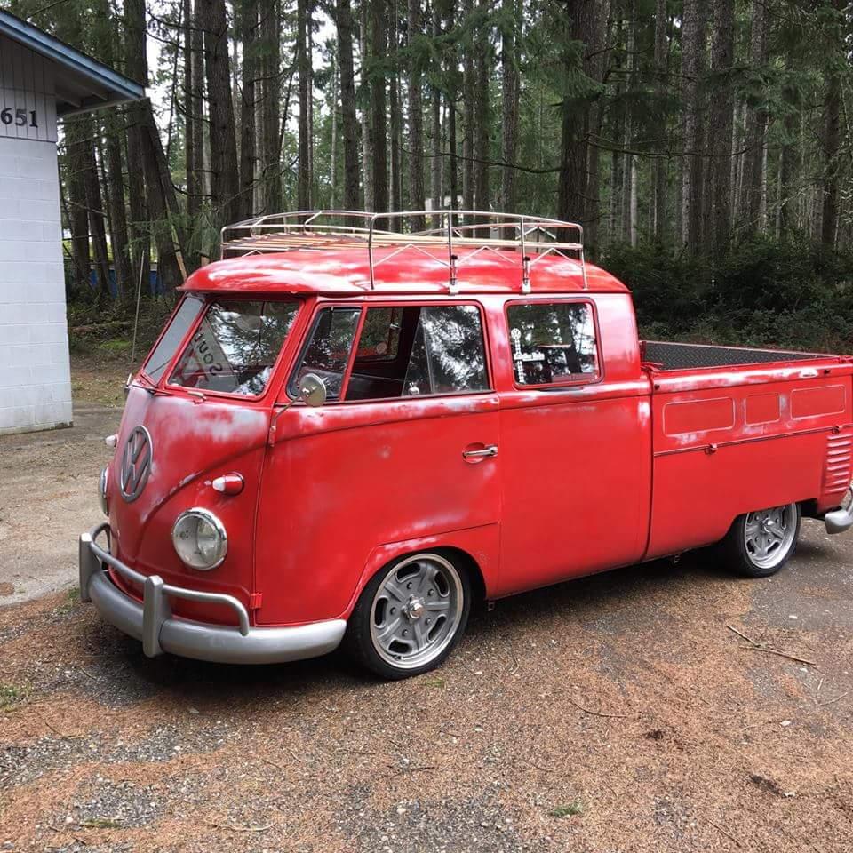 "Image of VW ""HALF SHEET"" BUS ROOF RACK"