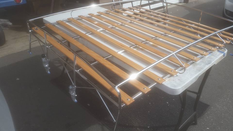 "Image of VW ""HALF SHEET"" BUS ROOF RACK"