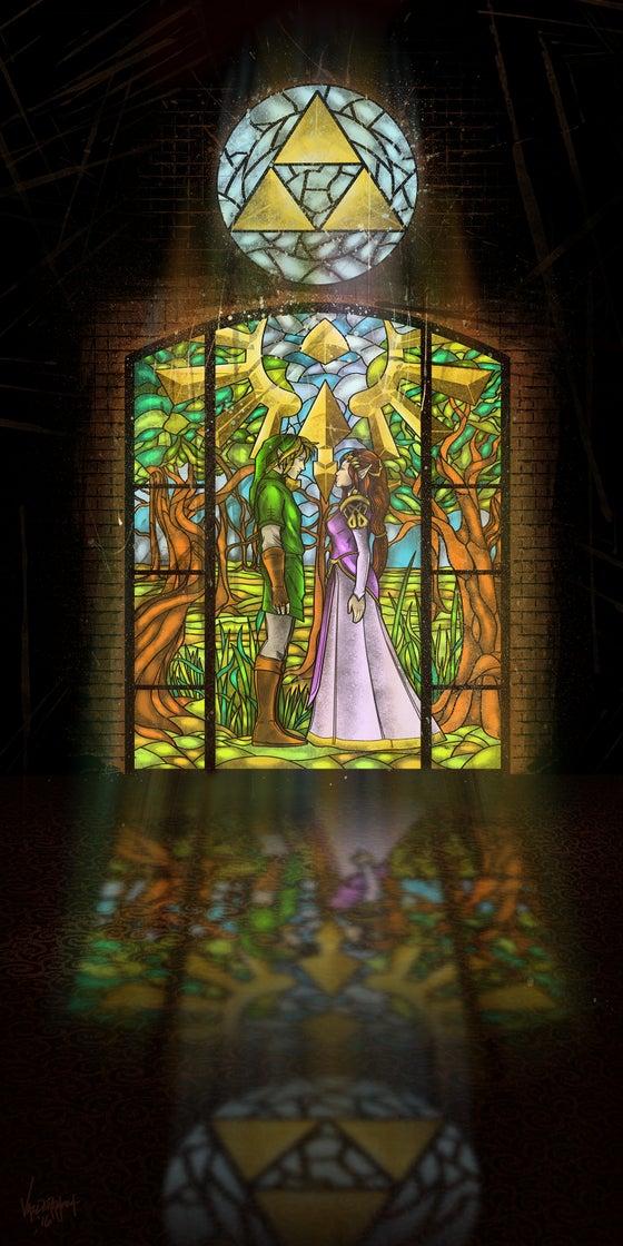 "Image of ""Hyrule Shrine"" - Inspired by Zelda"